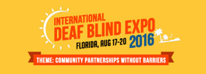 International Deaf Blind Expo 2016 Logo